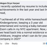 A Mom Is Encouraging Parents to Include Their Childrearing Duties on Their Résumés Amid the Pandemic