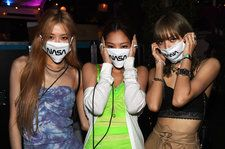 Blackpink Rock Ariana Grande's NASA Merch Backstage at Coachella: See Pic