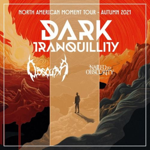 DARK TRANQUILLITY Announces Fall 2021 North American Tour With OBSCURA And NAILED TO OBSCURITY