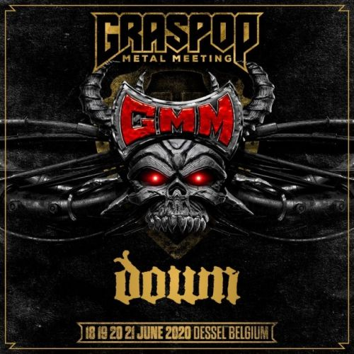 DOWN Confirms First Show Of 2020