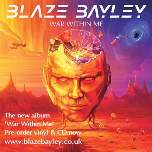 BLAZE BAYLEY On Upcoming LP 'War Within Me': 'This Is An Album That I Want To Put On And Feel Very Positive About'