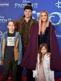 Ashlee Simpson and Evan Ross Had a Sweet Family Night Out at the Frozen 2 Premiere