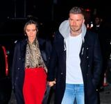 Victoria and David Beckham in His-and-Her Blazer Coats Prove Romance Isn't Dead