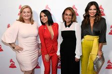 Becky G & More Celebrate Latin Roots, Hard Work at Latin Grammys Leading Ladies Event