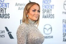 Jennifer Lopez Honors Kobe & Gianna Bryant With Special Nail Design at Public Memorial