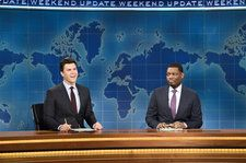 'SNL': Weekend Update Tackles Ryan Adams Allegations, Childish Gambino Grammy Win