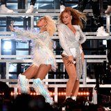 LOL: Beyoncé and Solange Fell on Stage at Coachella - and the Internet Had a Field Day
