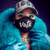 "Lizzo's Latest Quay Collection Features Good-as-Hell Sunglasses - and a ""Vote"" Face Mask"