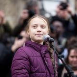 Greta Thunberg Trolled Trump Again . . . and as He Was Leaving the White House, No Less