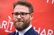 Seth Rogen Poses With Donald Glover During 'Lion King' Voice Recording Session