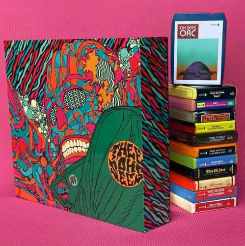 New Thee Oh Sees Box Set Collects 12 Albums On Reconditioned 8-Track Tapes