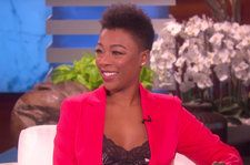 Samira Wiley Appeared on 'Ellen' to Crown the Host 'Lord of the Lesbians'