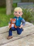 This $7 Joe Exotic Crochet Kit Includes a Tiger Cub, and We Don't Really Know What to Say