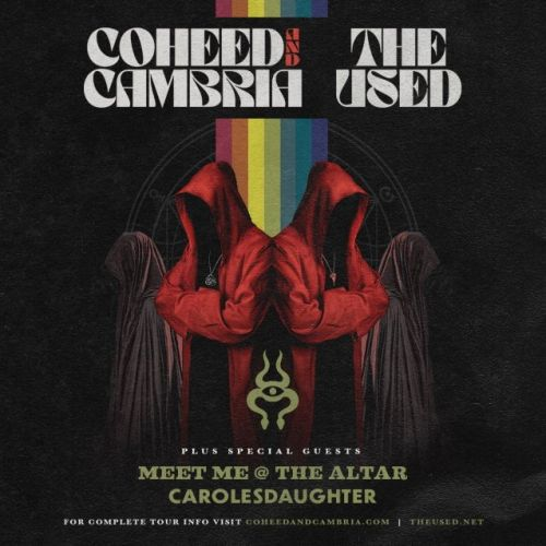 COHEED AND CAMBRIA And THE USED Announce Co-Headlining 2021 Tour