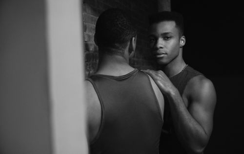 Dyllón Burnside: Pose Gives Black Men Permission to Be Tender and Loving