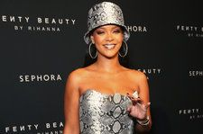Rihanna is Golden in New Fenty Beauty Photos: See the Posts