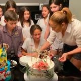 From Face Masks to Video Games, J Lo Did Double Duty For Max and Emme's Birthday Party