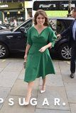 Meghan Markle's Engagement Outfit Was So Perfect, Princess Eugenie Pretty Much Recreated It