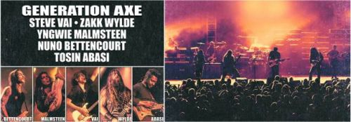 ZAKK WYLDE On Taking Part In 'Generation Axe' Tour: 'It's Great Rolling With All The Guys'