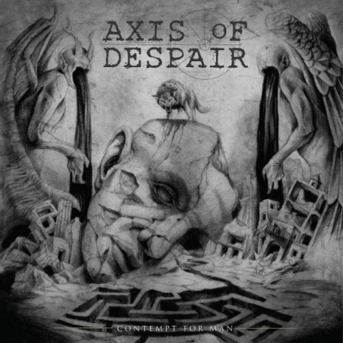 AXIS OF DESPAIR Feat. NASUM, COLDWORKER Members: 'Contempt For Man' Album Due In July