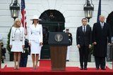 Melania Trump's White Hat Is the Elephant in the Room - of the White House, That Is