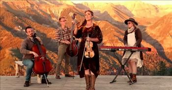 Here With Us' Southern Raised Bluegrass Worship Performance