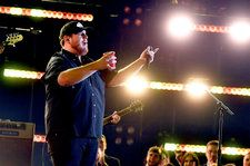 Luke Combs on Winning New Artist of the Year at 2018 CMA Awards: 'I'm a Lucky Guy'