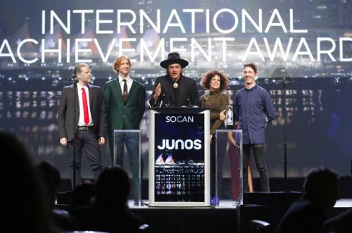 Arcade Fire, Grimes, Alvvays Win At Early Junos Ceremony
