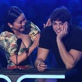 Noah Centineo Thanked Lana Condor's Lips After They Won Best Kiss, and Yep, I'm Melting