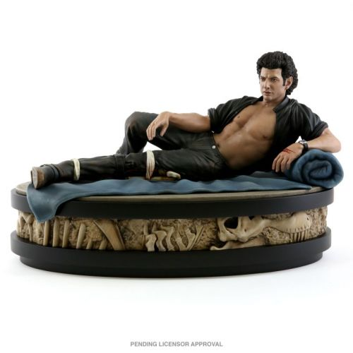 A statue of sexy Jeff Goldblum from Jurassic Park can be yours for just $600
