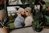 Still Wanting to Celebrate Their Special Day, This Couple Virtually Eloped in Their Backyard