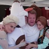 Watch Kristen Bell and the Frozen Cast Join James Corden For a Funny, Frantic Crosswalk Musical