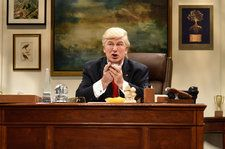 Watch Alec Baldwin's Donald Trump Declare National Emergency in 'SNL' Cold Open