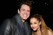 Ariana Grande & Jim Carrey Cozy Up in Sweet Photo Ahead of Her 'Kidding' Debut