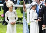 See Meghan Markle and Kate Middleton's Strikingly Similar Royal Ascot Debuts Side by Side