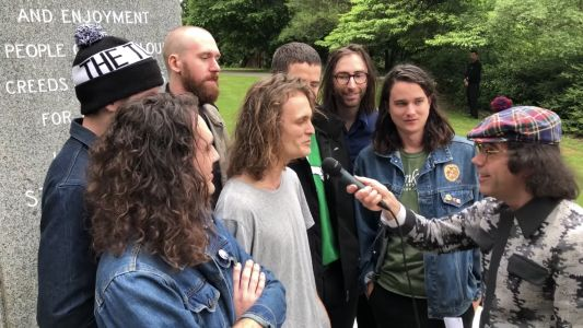 Watch Nardwuar Interview King Gizzard & The Lizard Wizard