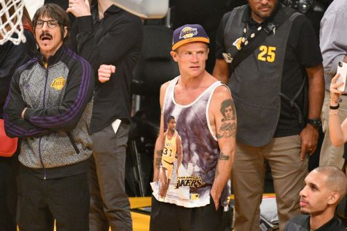 Anthony Kiedis Ejected From LeBron James' First Home Lakers Game