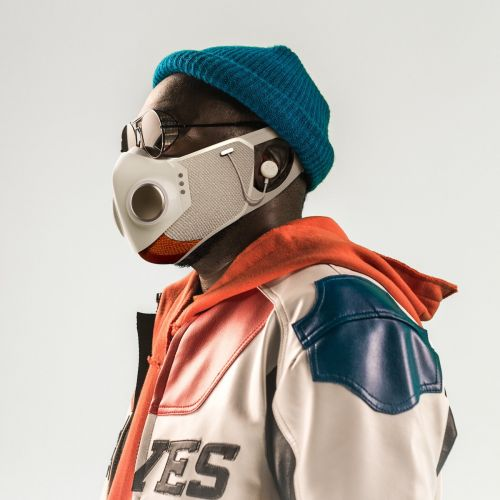 Will.i.am Unveils Tech-Driven Face Mask With Air Filtration, Noise-Canceling Audio, Glow Lights