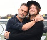 It's Andrew Lincoln's Last Comic-Con, So Let's Weep Over These TWD Cast Pics