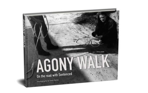 SENTENCED Photo Book 'Agony Walk' To Be Released In September