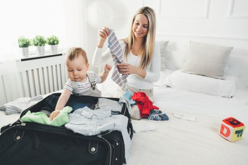 7 Tips For Your First Weekend Away With Baby, and What You Actually Need
