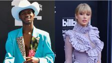 Lil Nas X Drives Taylor Swift Off The Road To No. 1 Again