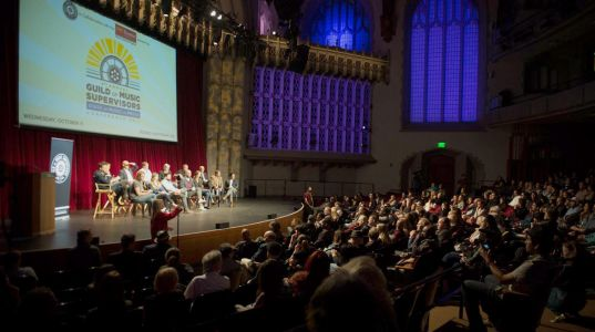 Guild of Music Supervisors conference held at USC