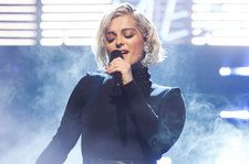 Bebe Rexha Dazzles 'Tonight Show' With Emotional, Stripped-Down 'Knees': Watch