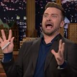 Justin Timberlake May Have to Be on Vocal Rest, but He Still Gives a Damn Good Silent Interview