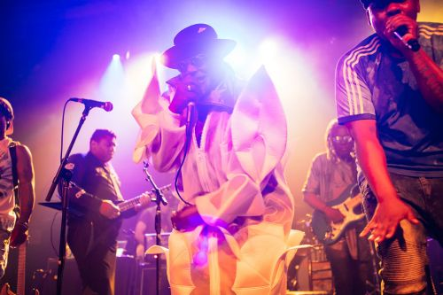 Review and photos: George Clinton and P-Funk go into overdrive at the Varsity