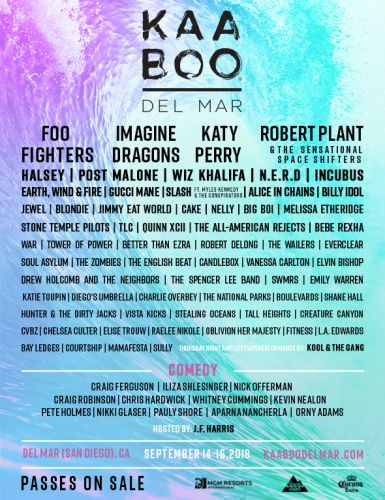 Win Tickets to KAABOO Del Mar 2018