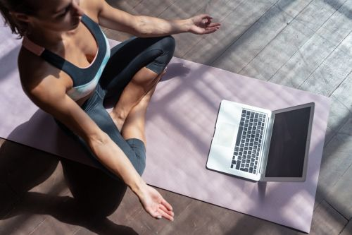 How Signing Up For Live Fitness Classes Brought Me Out of a Serious Quarantine Funk