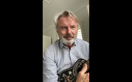 Sam Neill Is Getting In On The Quarantined Radiohead Covers Game