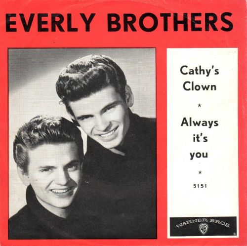 """The Number Ones: The Everly Brothers' """"Cathy's Clown"""""""